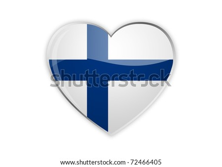 Heart Of Finland - stock photo
