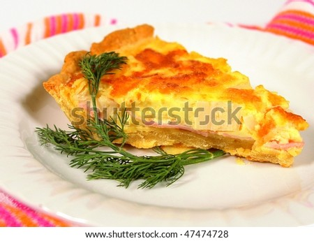 Heart of palm pie - stock photo