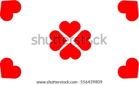 Heart on Valentine's Day celebration wallpaper background canvas love february