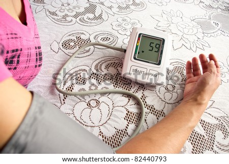 Heart pressure checking