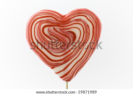 Heart shaped Lolipop
