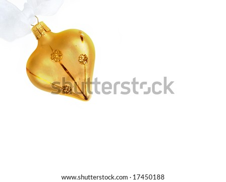 heart shaped ornament stationery