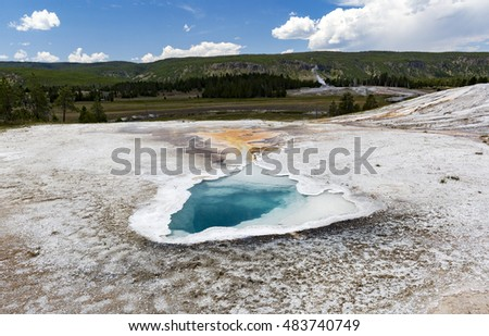 Heart Spring - Upper Geyser Basin - Yellowstone National Park