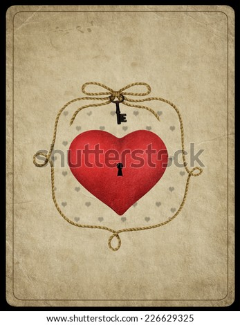 Heart symbol - stock photo