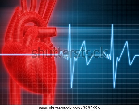heartbeat - stock photo