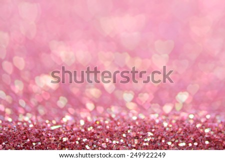 hearts as background. valentines day concept - stock photo