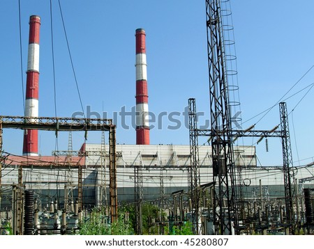 Heat electropower station run at idling speed