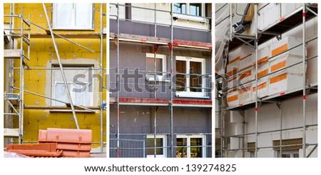 Heat insulation - stock photo