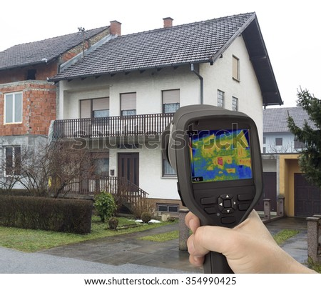 Heat Leak Detection with Infrared Camera