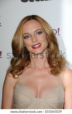 Heather Graham at the 14th Annual Hollywood Awards Gala, Beverly Hilton Hotel, Beverly Hills, CA. 10-25-10