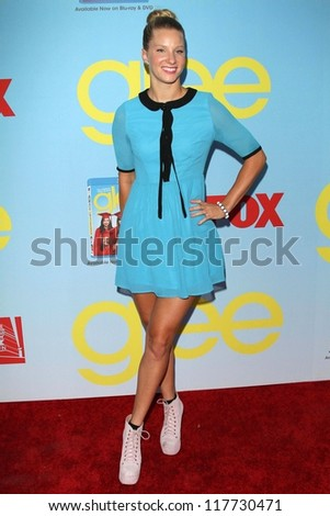 """Heather Morris at the """"Glee"""" Premiere Screening And Reception, Paramount Studios, Hollywood, CA 09-12-12 - stock photo"""