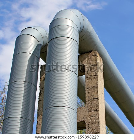 Heating main site