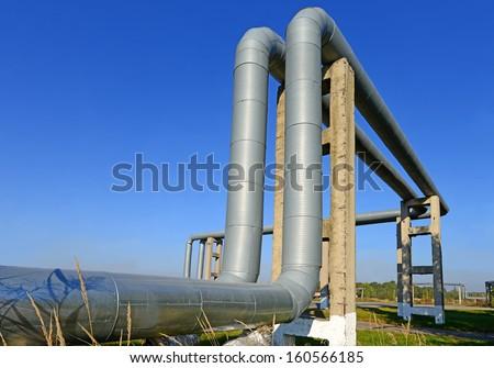 Heating main site - stock photo