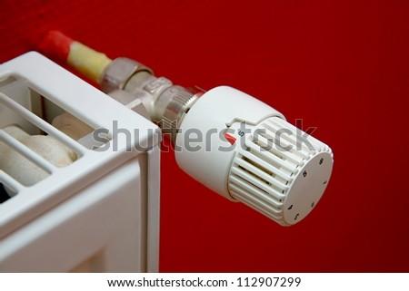 Heating Radiator - stock photo