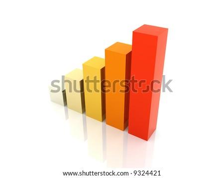 Heating up Statistics - stock photo