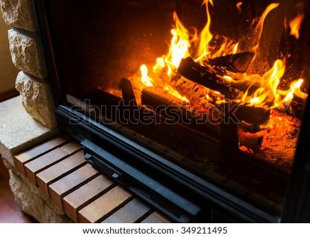 Logs duraflame fireplace java