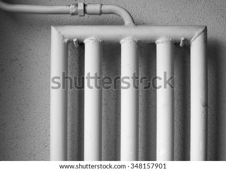 Heatpipes of an old radiator system