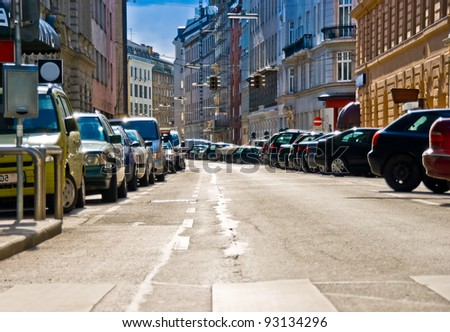 Heatwave in the city - stock photo
