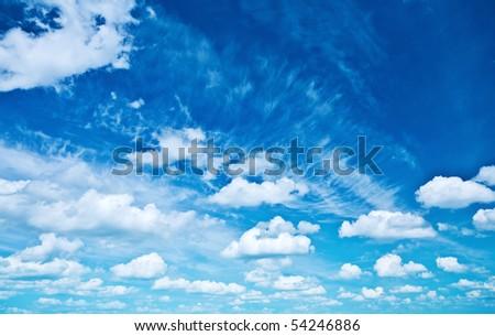 heaven closeup - stock photo