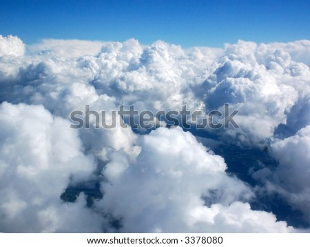 Heavenly Horizon - stock photo