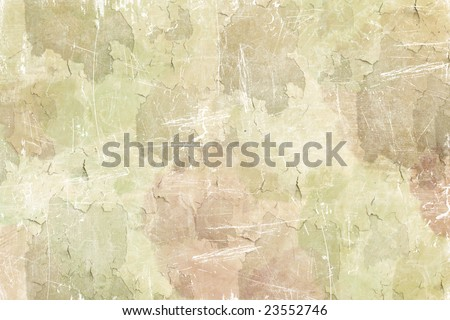 heavily grunged antiqued rose background
