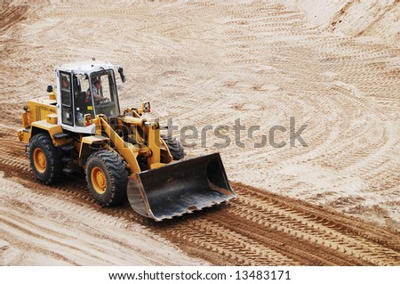 Heavy duty machinery - stock photo