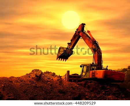 Heavy earth mover