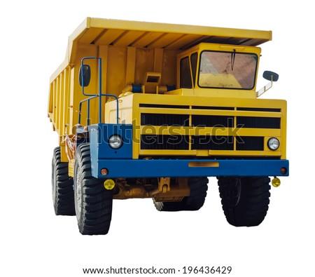 Heavy mining dumper  - stock photo