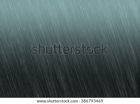 heavy rain dark sky background. Wallpaper, template design idea. Raindrops texture concept image. - stock photo