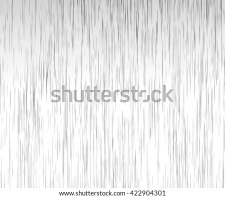 Heavy rain illustration on white and gray background. Realistic rain drops illustration with dark and light colors. Rainy day background. Dark grey rain drops on white. - stock photo
