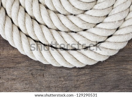 Nautical rope stock images royalty free images vectors for Heavy rope for nautical use