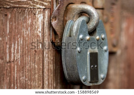 Heavy Steel Padlock