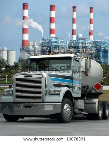 Heavy truck - stock photo