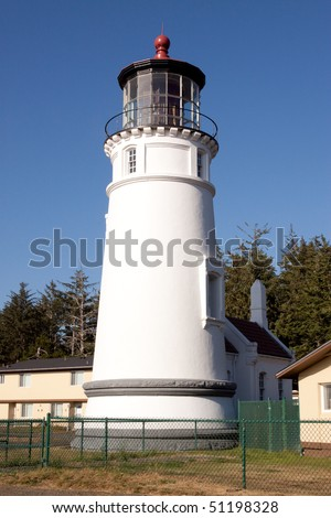 Heceta Head Lighthouse in Oregon coastline