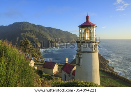 Heceta Head Lighthouse , Oregon