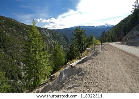 Heckman Pass in the Rainbow Range by Bella Coola Valley, BC