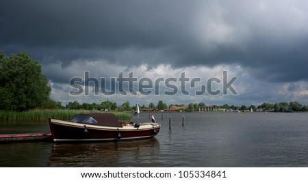 Heegermeer Friesland - stock photo