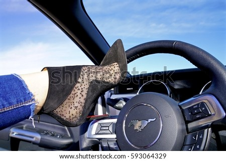 Christian Louboutin Shoes Stock Images, Royalty-Free ...