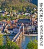 Heidelberg at spring, Germany - stock photo