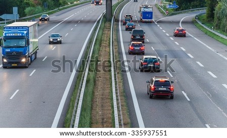 Freeway Traffic Stock Images Royalty Free Images