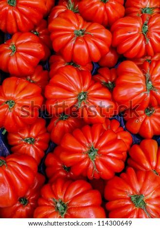 Heirloom tomatoes - stock photo