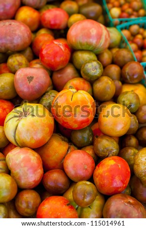 Heirloom Tomatoes - stock photo