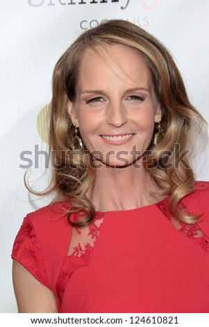 Helen Hunt at the 18th Annual Critics' Choice Movie Awards Arrivals, Barker Hangar, Santa Monica, CA 01-10-13