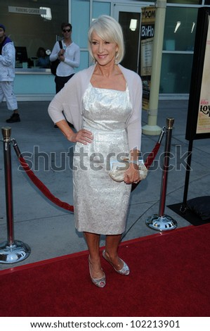 "Helen Mirren at the ""Love Ranch"" Los Angeles Premiere, ArcLight Cinemas, Hollywood, CA. 06-23-10"