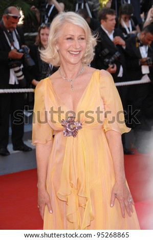Helen Mirren at the 60th anniversary gala at the 60th Annual International Film Festival de Cannes. May 20, 2007  Cannes, France.  2007 Paul Smith / Featureflash