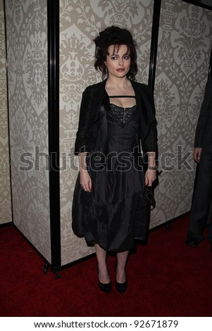 Helena Bonham Carter at the QVC Red Carpet Style Party, Four Seasons Hotel, Los Angeles, CA. 02-25-11