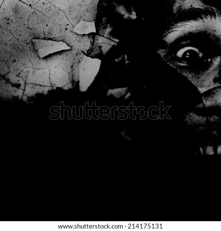 Hell,Horror Background For Movies Poster Project  - stock photo