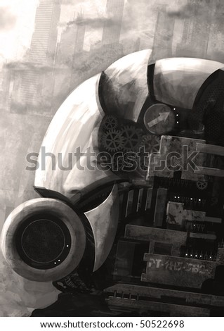 Helmet - stock photo
