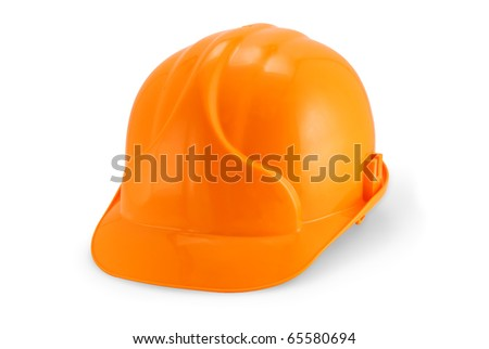 Helmet builder on a white background