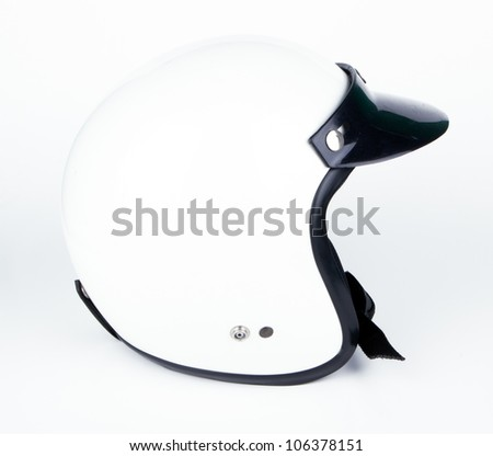 helmet motorbike bike car motorcycles - stock photo
